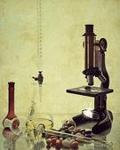 Vintage Science — Stock Photo