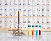 Nauki chemiczne — Zdjęcie stockowe