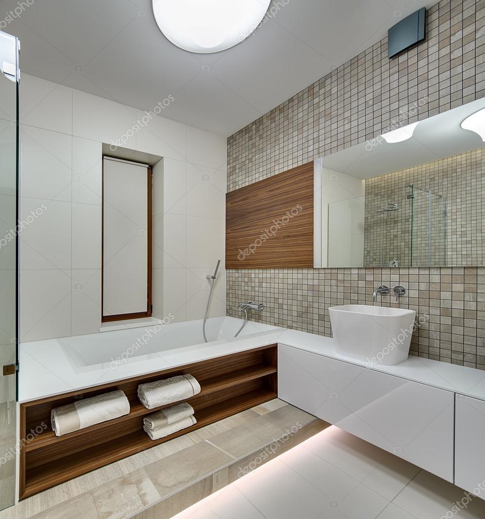 Badrum i modern stil — Stockfotografi © bezikus #104361138