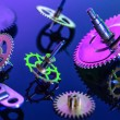 Colorful details clockwork — Stock Photo #60786335