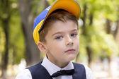 Porträtt av en pojke — Stockfoto