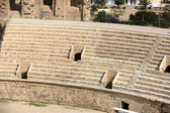 El Jem Coliseum ruins — Stock Photo