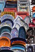 Traditional Tunisian ceramics — Stock Photo