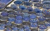 Cerâmica tradicional tunisiano — Fotografia Stock