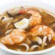 Japanese soup with prawns — Stock Photo #54074821