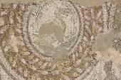 古代ローマ時代のモザイク — ストック写真