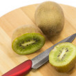 Kiwi fruit and a knife — Stock Photo #54914051