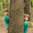Two little boys in the park — Stock Photo #57521293