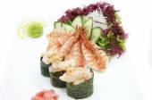 Sashimi cozinha japonesa — Fotografia Stock