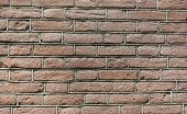 Red Old brick wall — Stockfoto