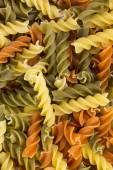 Raw pasta background — Stock Photo