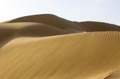 Sand dunes of desert — Stock Photo