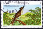 Cuban Solitaire stamp — Stockfoto