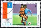 Football World Cup Mexico-86 — Stock Photo