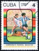 World championship på fotboll i Mexiko, 1986 — Stockfoto