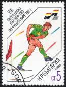 Чемпионат Германии, 13 Европы по футболу 1988 — Стоковое фото
