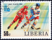 Olympic Winter Games in LAKE PLACID 1980 — Stock Photo