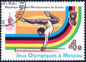 Olympijské hry Moskva 1980 — Stock fotografie