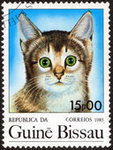 Stamp printed by GUINEA BISSAU — Stock Photo
