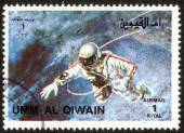 Stämpel i um-al-qiwain — Stockfoto