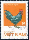 Stamp printed by Vietnam — Stock Photo