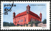 Stamp printed in Poland — Stock Photo