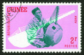 Stamp printed by Guinea — Stock Photo