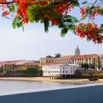������, ������: Panama City view old casco viejo antiguo