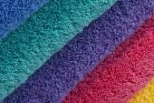 Bath Towels — Stock Photo