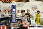 NASCAR:  Aug 02 U.S. Cellular 250 — Stock Photo