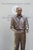Jimmy Carter Statue — Stock Photo