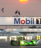 The Extreme Motorsports Honda HDP ARX Honda car races — Stock Photo