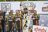 NASCAR: 29 de agosto Road America 180 despediu-se por Johnsonville — Fotografia Stock