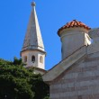 Medieval Catholic church in Budva, Montenegro — Stock Photo #55318341
