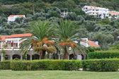 Milocher city in Montenegro. Kings Park — Stock Photo
