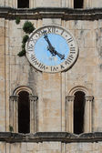 Ancient clock tower of St Nicholas Church, Montenegro — Stock Photo