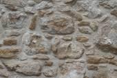 Sample of old stonework wall close-up. Horizontal — Stock Photo