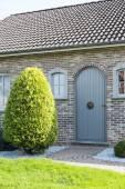 Wooden door from house — Stock Photo
