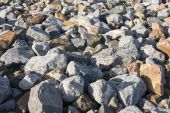 Big rocks as background — Stock Photo
