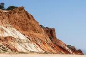 Falaises de Praia da Falesia — Photo