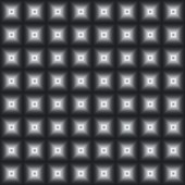 Black-and-white seamless background from squares. — Foto de Stock