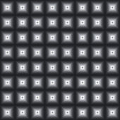 Black-and-white seamless background from squares. — Stockfoto