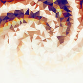 Golden background from triangles. — Foto de Stock
