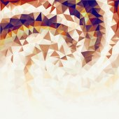Golden background from triangles. — Stockfoto