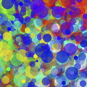Abstract background from multi-colored spots. — Stockfoto