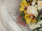 Buquê de noiva — Fotografia Stock