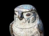 Horus, the falcon god — Stock Photo