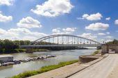 Tisza River at Szeged — Stock Photo