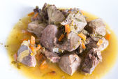 Lamb offal stew — Stock Photo
