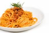 Spaghetti with ragout — Foto de Stock